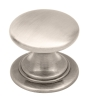 Windsor brushed nickel cup handles and matching knobs collection