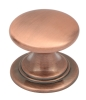 Windsor rose gold cup handles and matching knobs collection