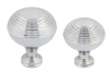 System polished chrome cup handle and matching knobs collection