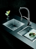 Pyramis Tetragon medium undermount sink