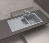 Schock grey composite 1.5 bowl sink