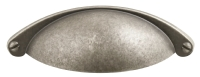 Pewter traditional shaker cup handle -  ...