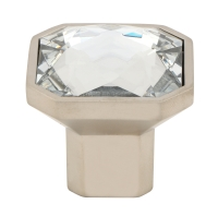 Crystal Knob Square 32mm x 32mm (Hand F ...