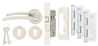 Ultimate Tavira Door Pack Satin Nickel