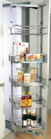 Swivel pull out rotating larder unit -  ...