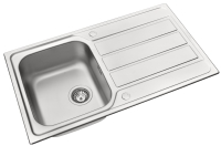 Pyramis  Athena  stainless  steel  sink ...