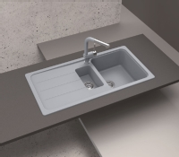 Schock Granite Composite Bowl & Half Si ...
