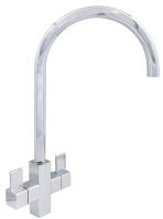 Cherika  Square  Chrome  Tap