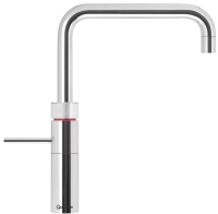 Quooker Fusion square chrome tap Pro3 t ...