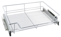 High line chrome pull out wire basket f ...
