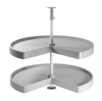 Solid base 3/4 carousel for kitchen cor ...