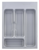 Metallic cutlery insert - 400mm drawer