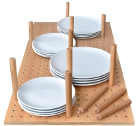 12 peg base plate stack crokery storage ...
