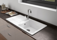 Sanindusa Reno Single Bowl Ceramic Sink ...