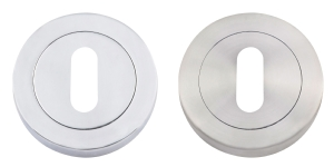 Two Ring Escutcheon For Latch Handle
