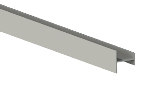 Placard H profile for sliding wardrobes