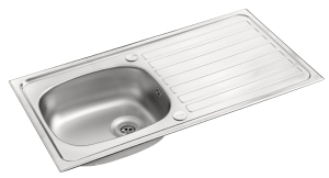 Pyramis single bowl sink .8mm