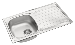 Derby single bowl stainless steelsink