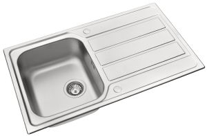 Athena single bowl sink
