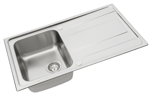 Alea single bowl sink