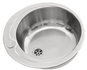 Pyramis round bowl sink with tap hole