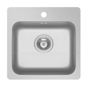 Pyramis Zeria 500mm unit flushmount sink with tap hole