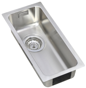 Stainless Steel half bowl sink
