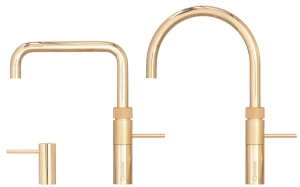 Quooker Fusion gold round or square tap