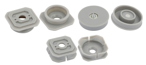 Click button panel fittings