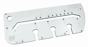 Unika worktop jig & pin set