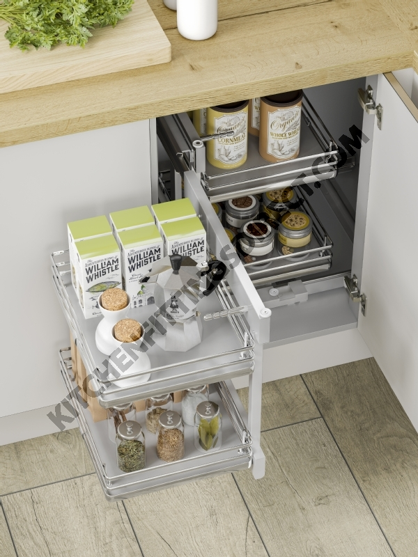Solid Base Kitchen Corner Unit Optimizer