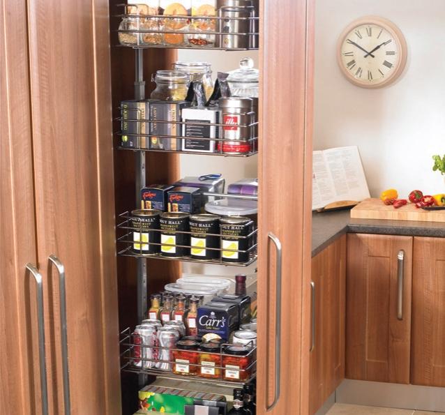 Kitchen Fittings Direct Voucher Code: Soft Close Pull Out Larder Unit