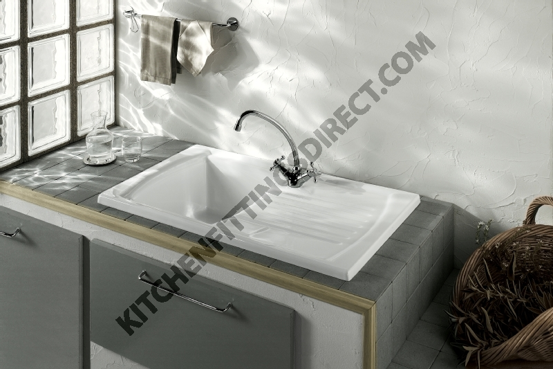 Ceramic -sink -drainer