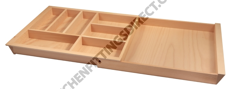 Expandable Wooden Cutlery Drawer Insert Cutlery Inserts