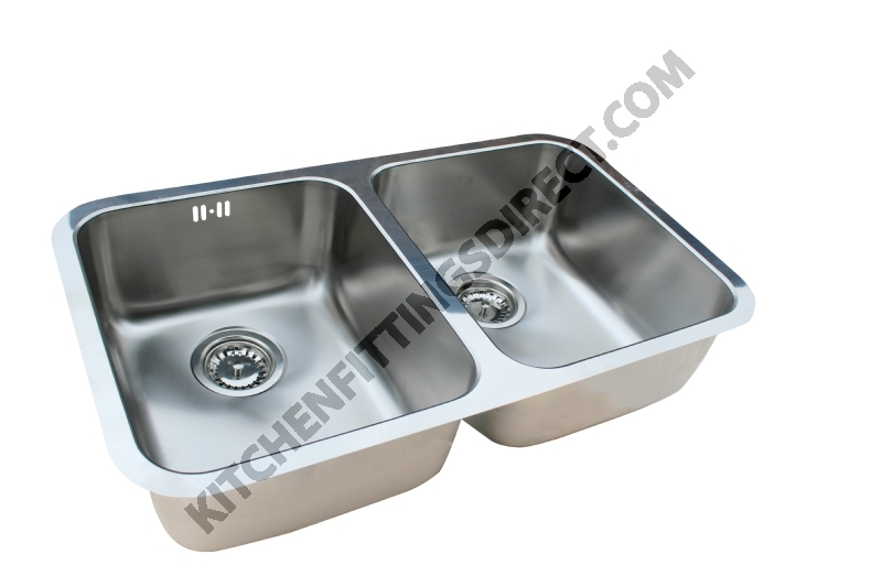 Relia double bowl undermount sink