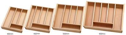 Wooden Cutlery Drawer Insert