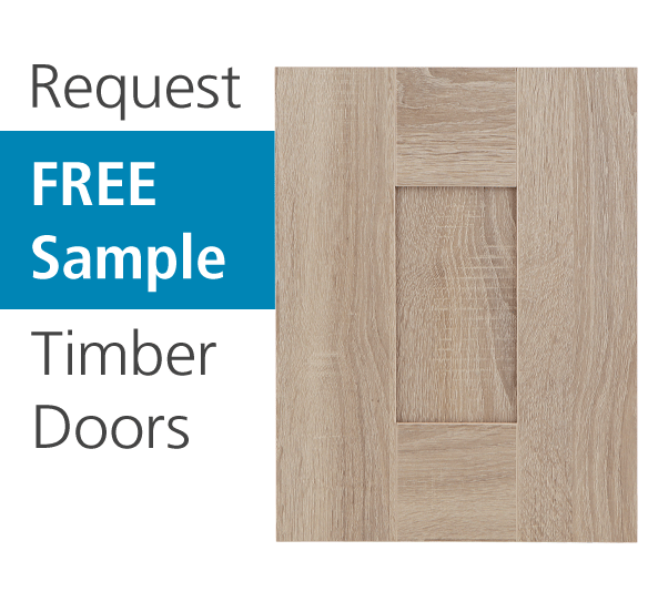 Free kitchen door sample