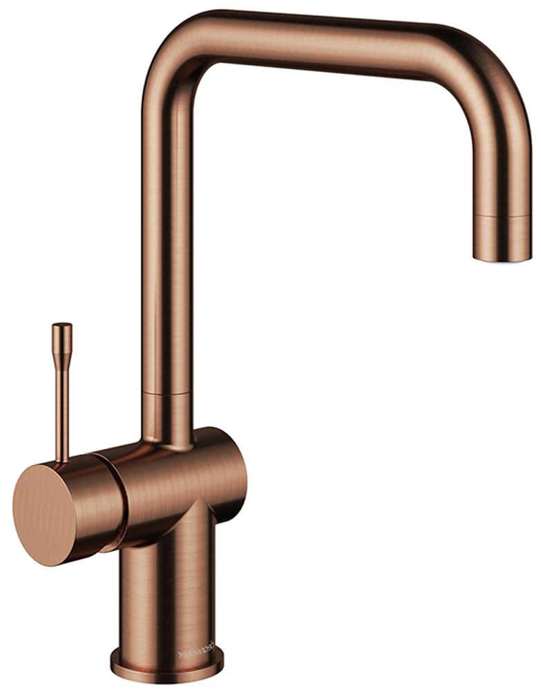 Copper rose gold tap
