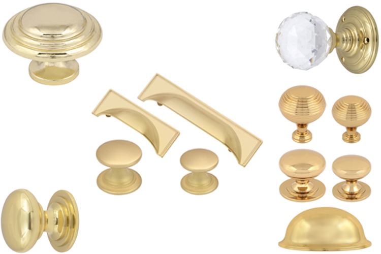 Brass Kitchen Handles Knobs