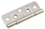 Nickel Flush Hinge