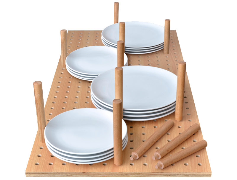 Plate Stack Organizer